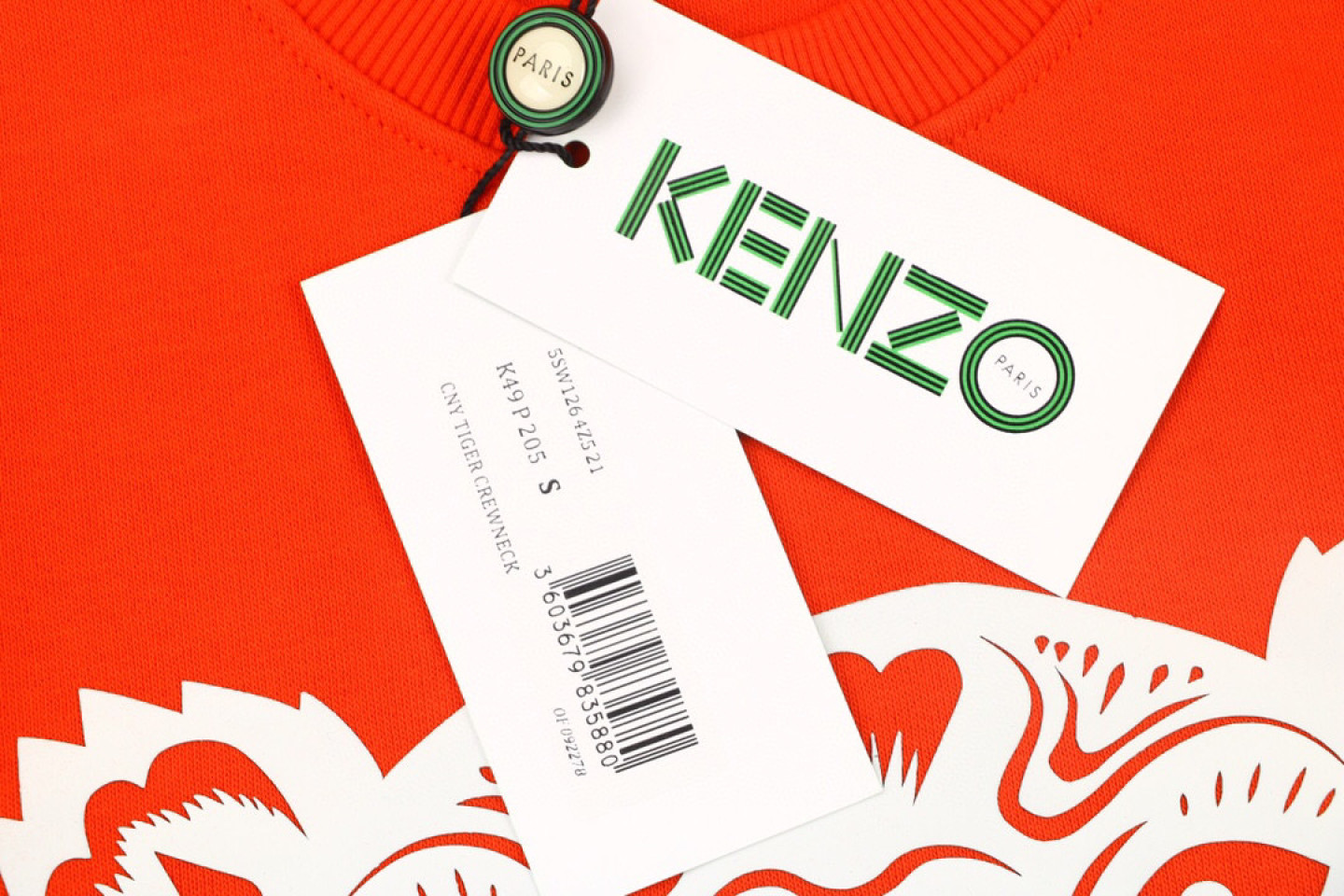 Shirt Genuine kenzo black gold and red tiger head sweater 3 genuine_kenzo_black_gold_and_red_tiger_head_sweater_3