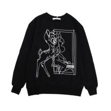 Givenchy Bambi Black and White Sketch Line long sleeve