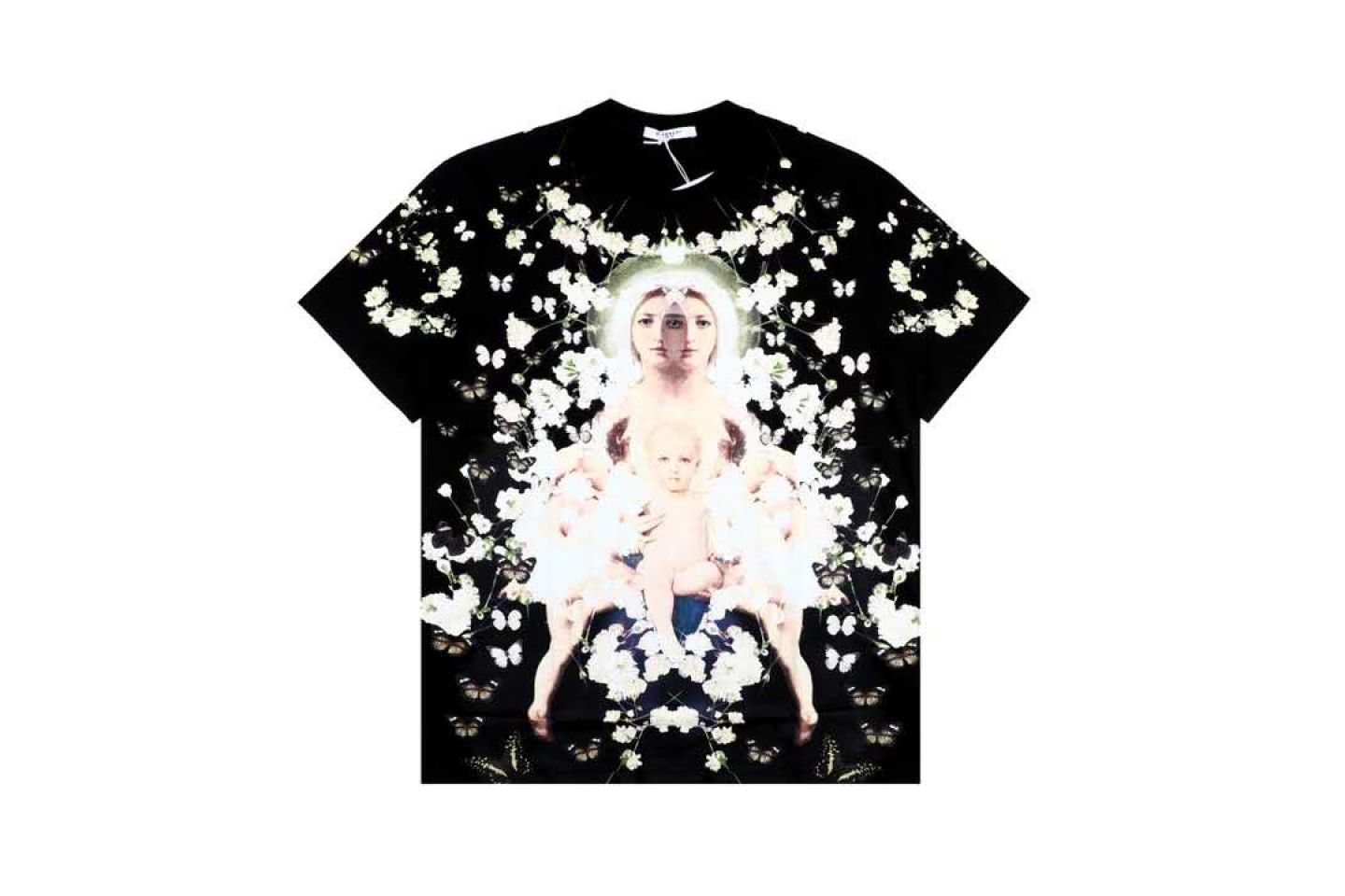 Shirt Givenchy classic Mother Maria short-sleeved T-shirt 1 givenchy_classic_mother_maria_short_sleeved_t_shirt__1