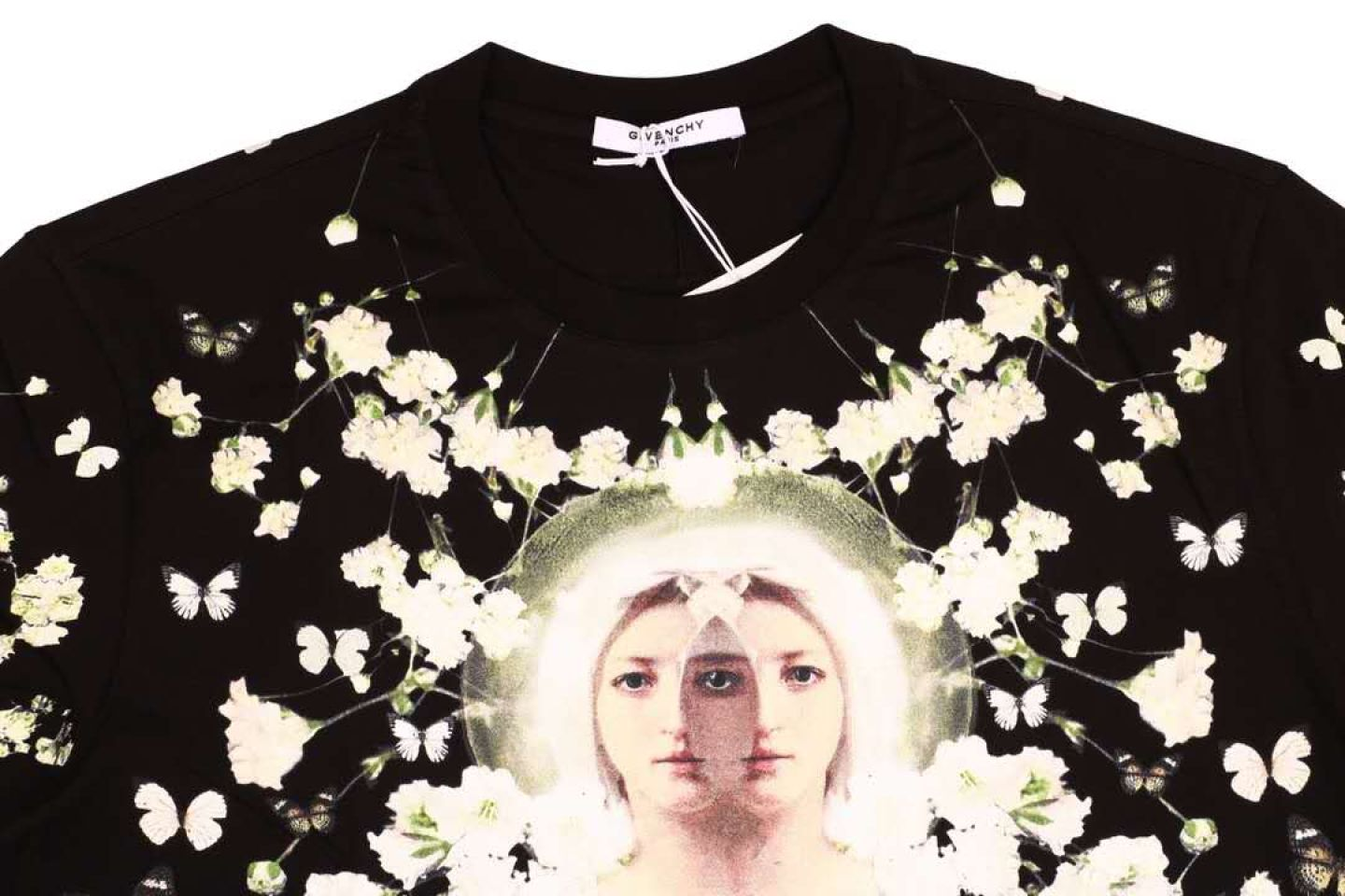 Shirt Givenchy classic Mother Maria short-sleeved T-shirt 2 givenchy_classic_mother_maria_short_sleeved_t_shirt__2