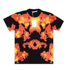 Givenchy Flame Tee Black