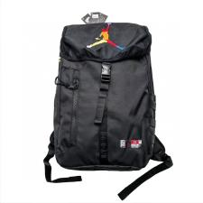Jordan colorful trapeze logo backpack Black