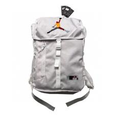 Jordan colorful trapeze logo backpack White