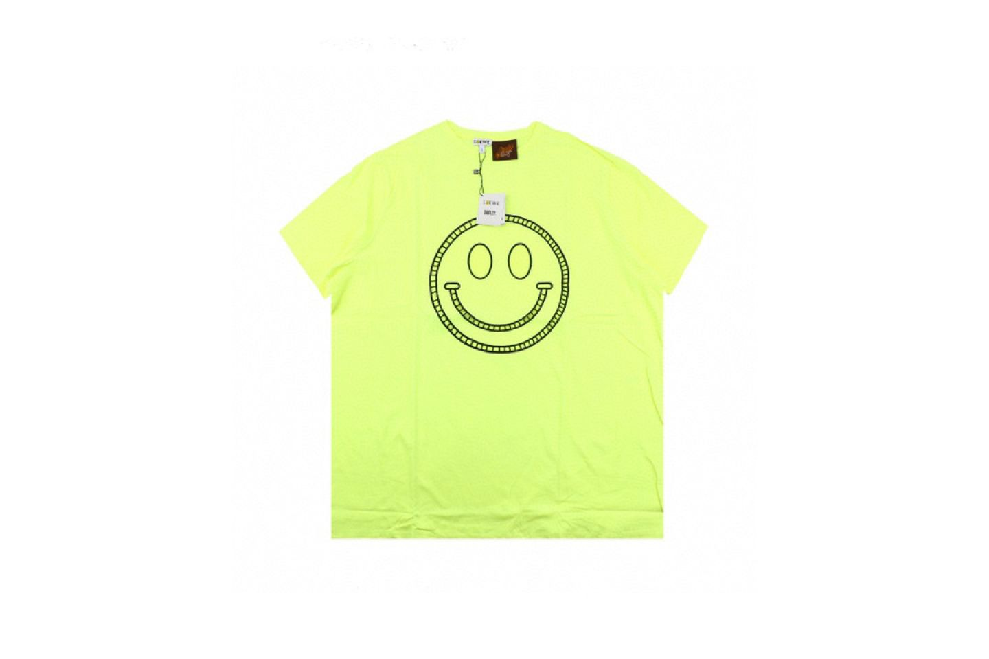 Shirt LOEWE x SMILEY 20ss fluorescent smiley short sleeve T-shirt yellow 1 loewe_x_smiley_20ss_fluorescent_smiley_short_sleeve_t_shirt_yellow_1