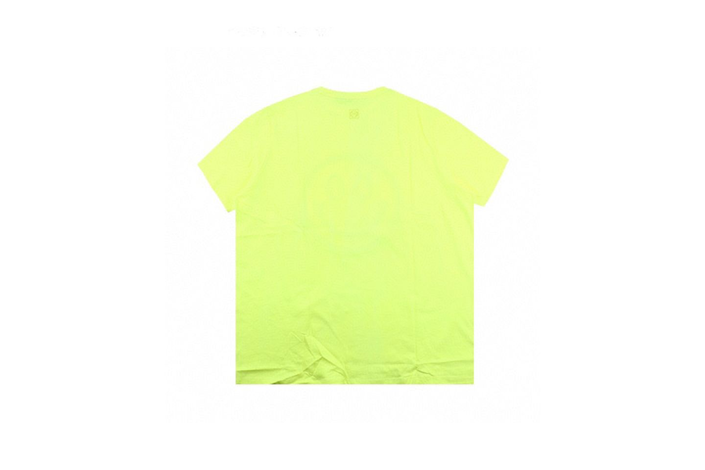 Shirt LOEWE x SMILEY 20ss fluorescent smiley short sleeve T-shirt yellow 5 loewe_x_smiley_20ss_fluorescent_smiley_short_sleeve_t_shirt_yellow_5