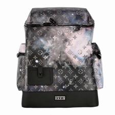 Lois Vutton Alpha Backpack Monogram Galaxy Black Multicolor