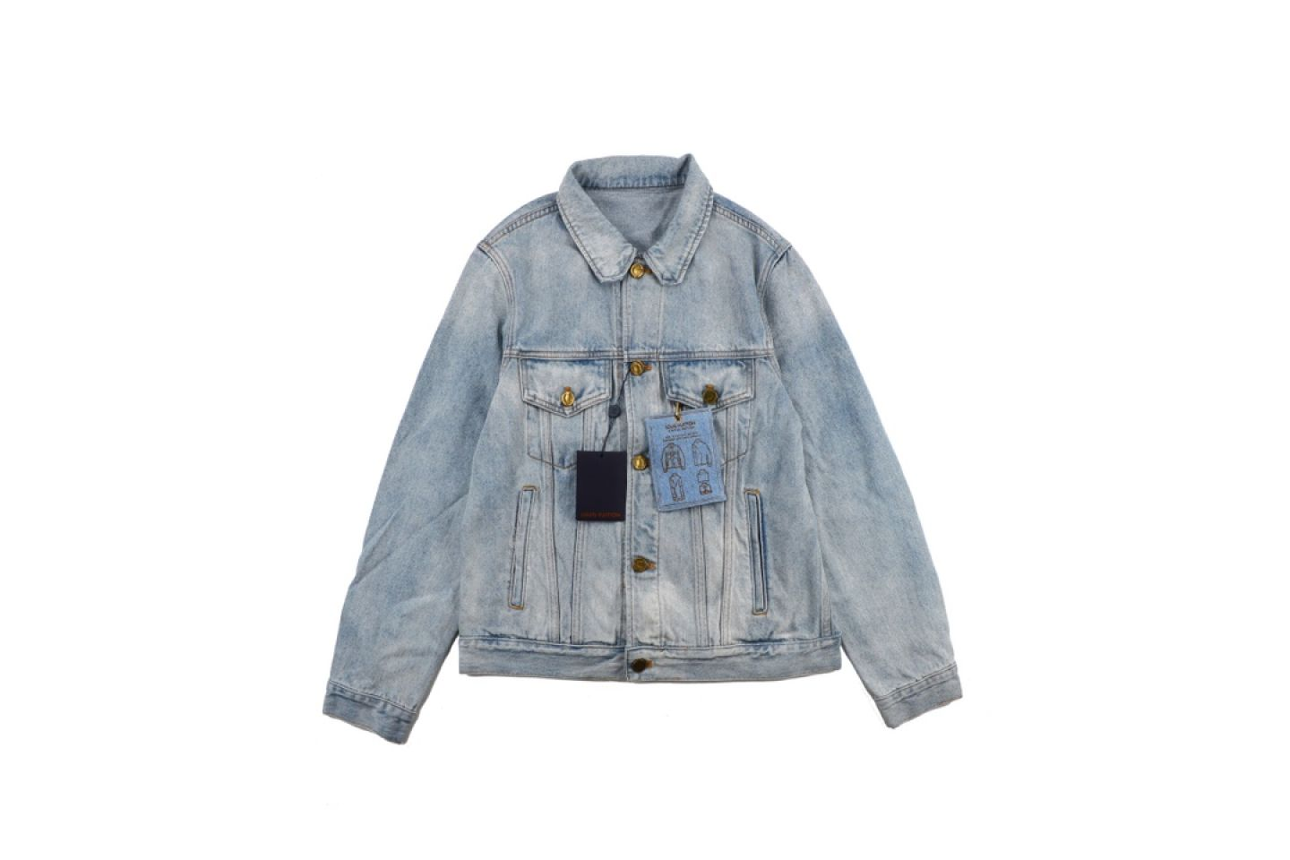 Jacket Louis Vuitton 20fw wash list vintage denim jacket 1 louis_vuitton_20fw_wash_list_vintage_denim_jacket_1