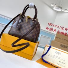 Louis Vuitton Top Handle Alma BB Damier Ebene