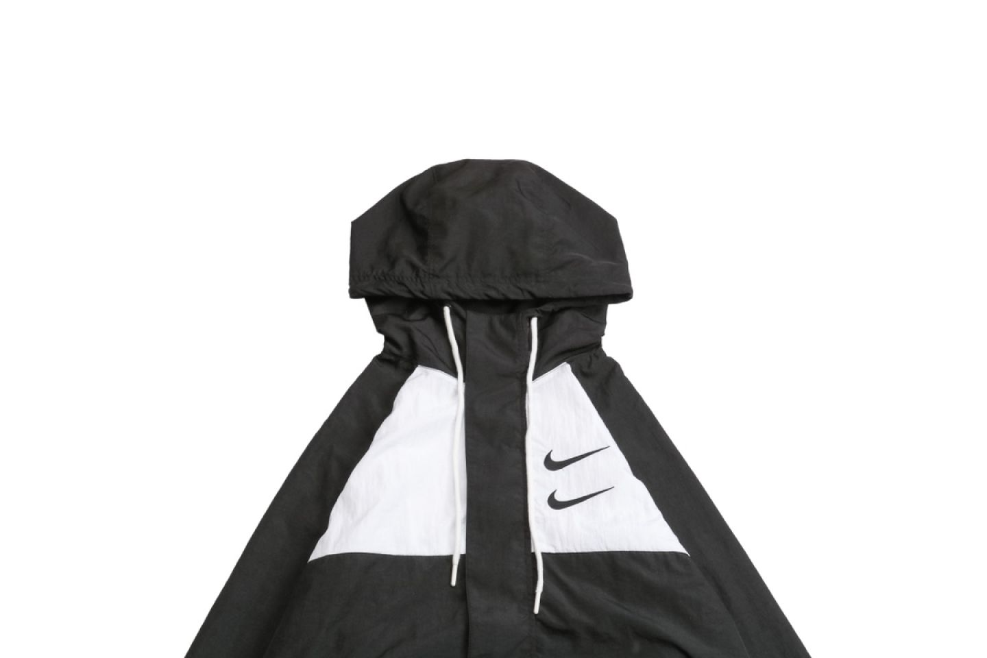 "Jacket Nike 20ss Swoosh Double Hook Long Sleeve Hooded Sports Jacket ""Black"" 2 nike_20ss_swoosh_double_hook_long_sleeve_hooded_sports_jacket_black__2"