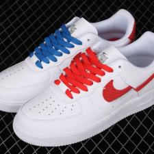 Nike Air Force 1 LXX White Red Royal