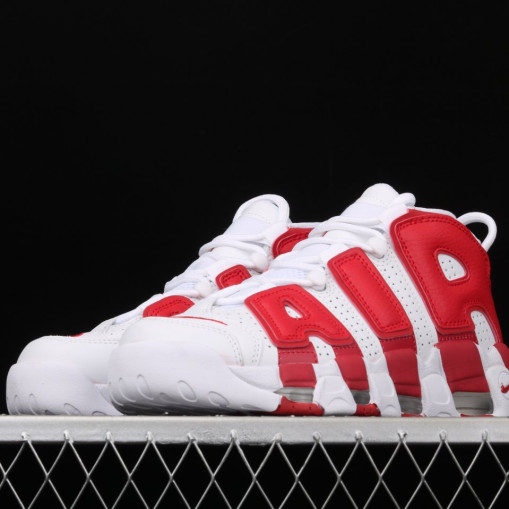 Nike Air More Uptempo Varsity Red