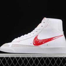 Nike Blazer Mid 77 Sketch White Red