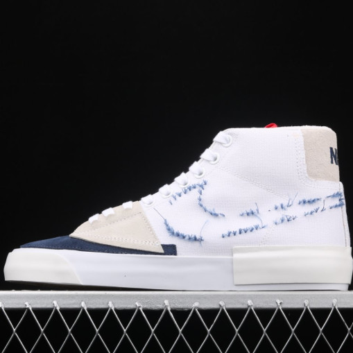 Nike Blazer Mid Edge Hack Pack White