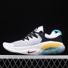 Nike Joyride Run Flyknit White Blue Yellow