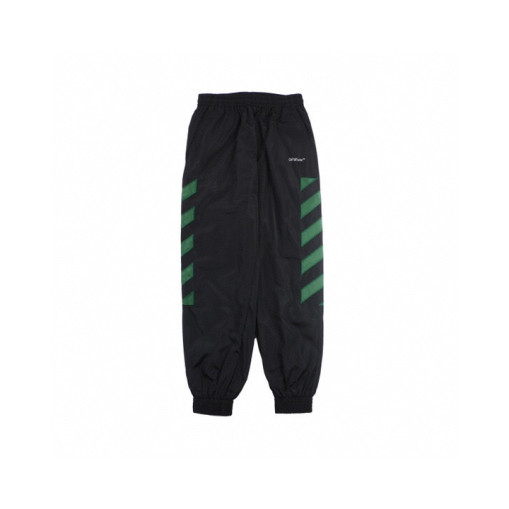 Offwhite 20fw classic speed reducer quickdrying functional pants Black