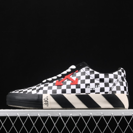 OffWhite Vulc Low Checkered