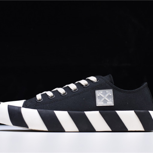 OffWhite Vulc Low Top Black
