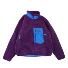 Patagonia RetroXjacket lamb wool jacket Purple
