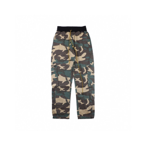 RHUDE 2020ss spring and summer camouflage pocket cargo pants