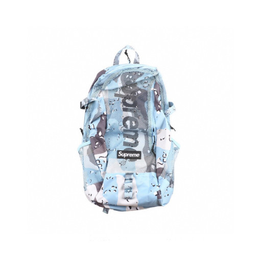 Supreme Backpack ss20 Blue Chocolate Chip Camo