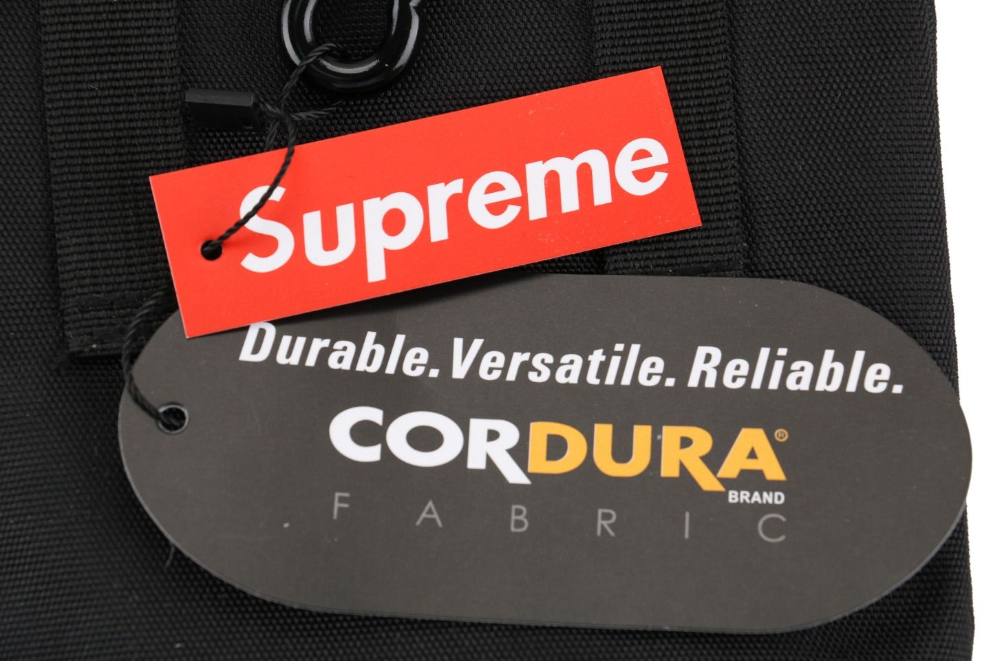 Goods Supreme Shoulder Bag (FW19) Black 3 supreme_shoulder_bag_fw19_black__3
