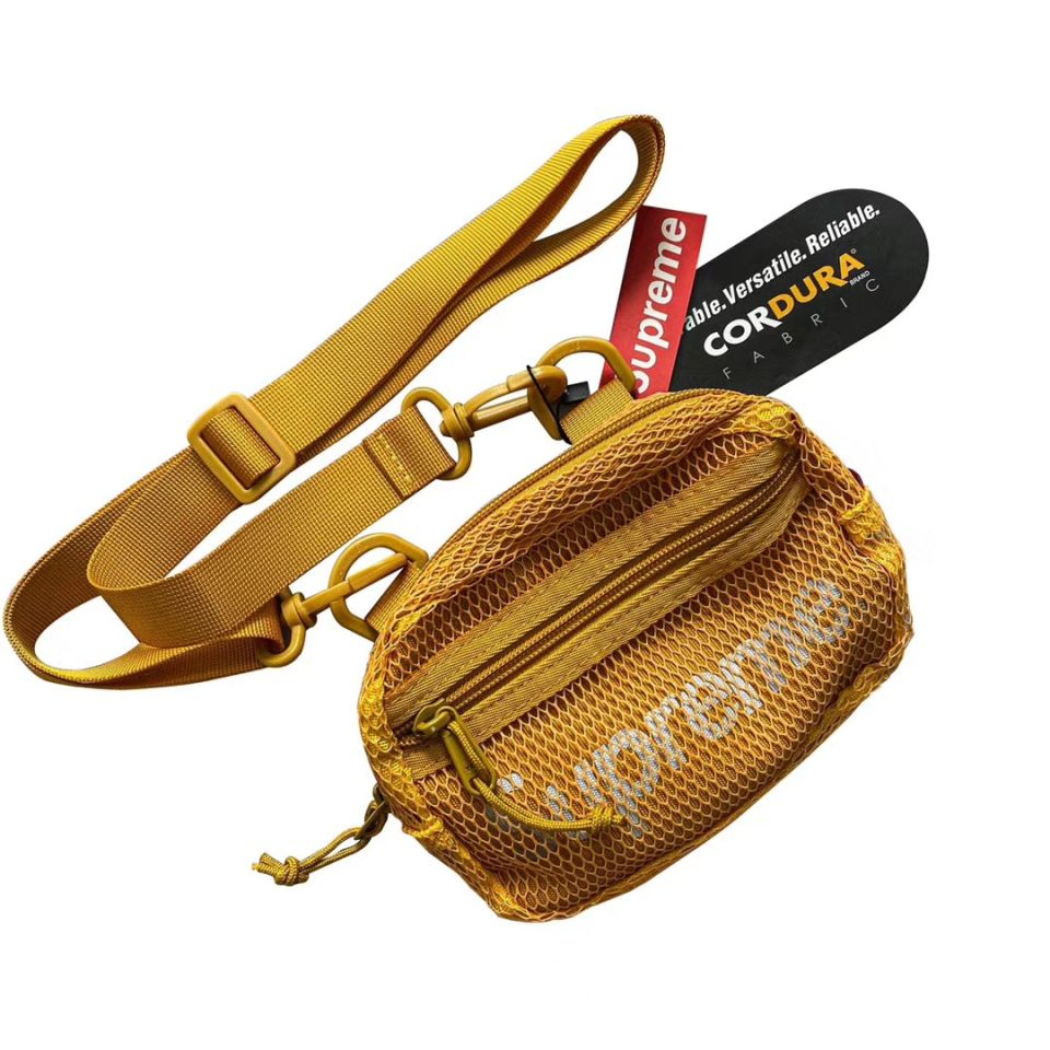 Goods Supreme Small Shoulder Bag (SS20) Gold 2 supreme_small_shoulder_bag_ss20_gold__2