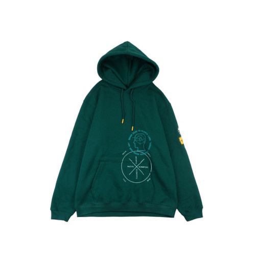 The North Face x Braindead Hoodie Green