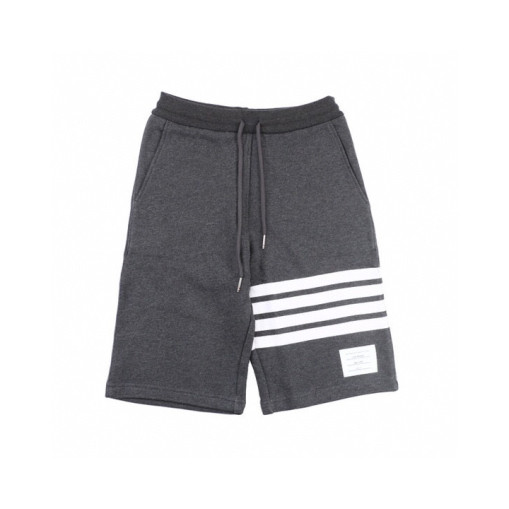 ThomBrowne19ss dyed dark grey shorts