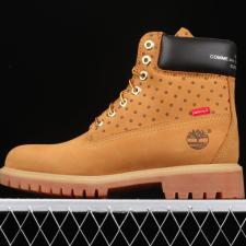 Timberland 6 Boots x Supreme x Commes Des Garcons Wheat