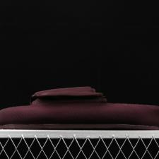 Yeezy Supply Nylon Slipper Oxblood